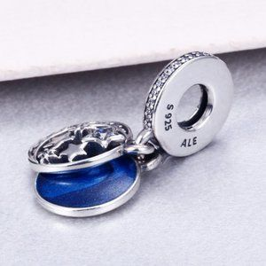 Pandora Jewelry - Pandora Moon & Blue Sky Dangle Charm
